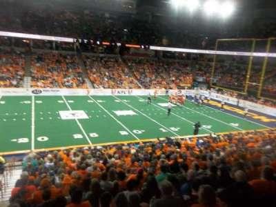 Spokane Arena, section: 116, row: P, seat: 19