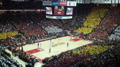 Xfinity Center (Maryland), section: 211, row: 12, seat: 1