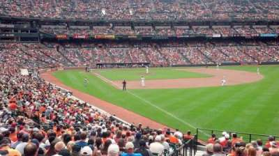 Oriole Park at Camden Yards, section: 5, row: 14