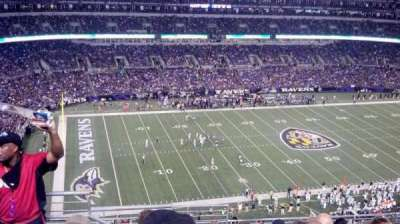 M&T Bank Stadium, section: 503, row: 11, seat: 4