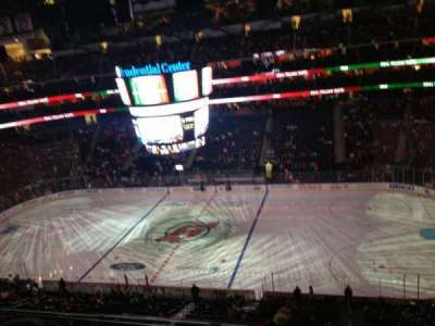 Prudential Center, section: 113, row: 4, seat: 5