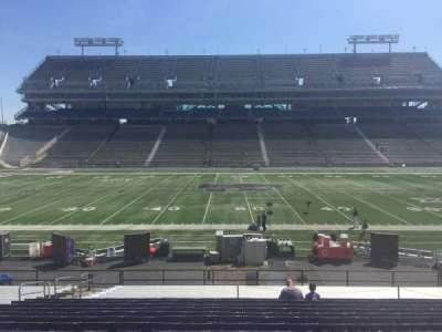 Bill Snyder Family Stadium, section: 4, row: 25, seat: 20