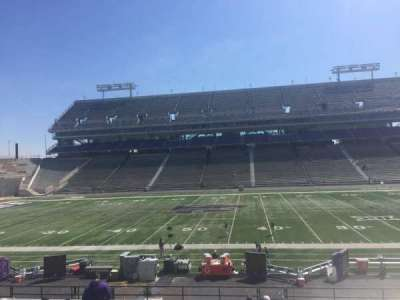Bill Snyder Family Stadium, section: 5, row: 28, seat: 1