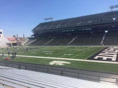 Bill Snyder Family Stadium, section: 8, row: 17, seat: 13