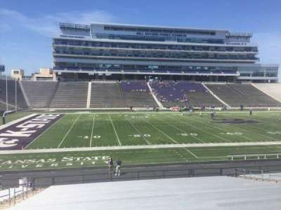 Bill Snyder Family Stadium, section: 22, row: 28, seat: 25