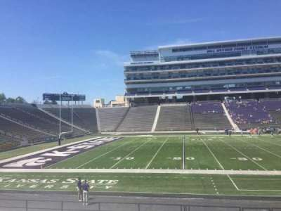 Bill Snyder Family Stadium, section: 22, row: 19, seat: 6
