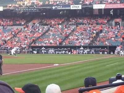 Oriole Park at Camden Yards, section: 62, row: 4, seat: 8