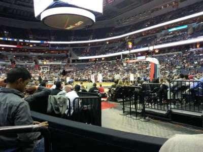 Verizon Center, section: 103, row: B, seat: 1
