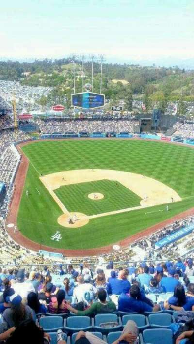 Dodger Stadium section TD