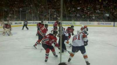 Prudential Center, section: 6, row: 3, seat: 4