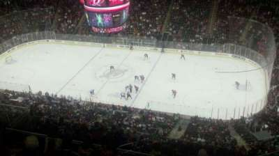 Prudential Center, section: 214, row: 8, seat: 5