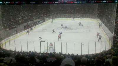 Prudential Center, section: 14, row: 22