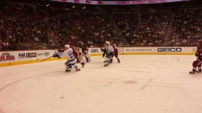 Gila River Arena, section: 114, row: A, seat: 15