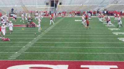 Camp Randall Stadium, section: y3, row: 16, seat: 16