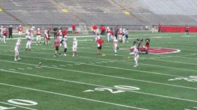 Camp Randall Stadium, section: x, row: 20, seat: 14