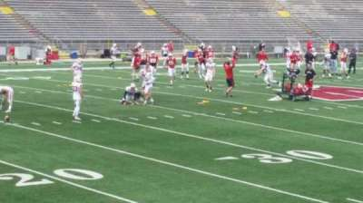 Camp Randall Stadium, section: w, row: 20, seat: 14