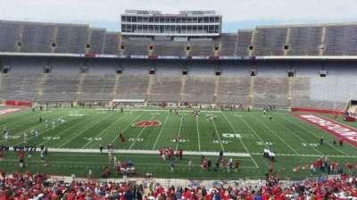 Camp Randall Stadium, section: s, row: 57, seat: 36