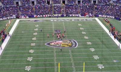 M&T Bank Stadium section 513