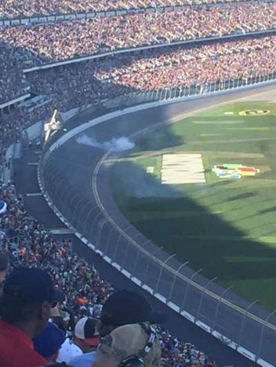 Daytona International Speedway, section: 481, row: 35, seat: 15