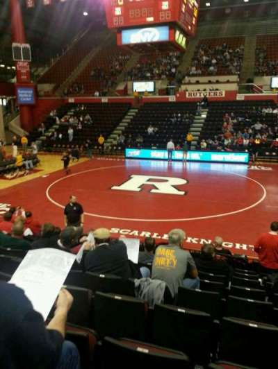Louis Brown Athletic Center, section: 104, row: J, seat: 5