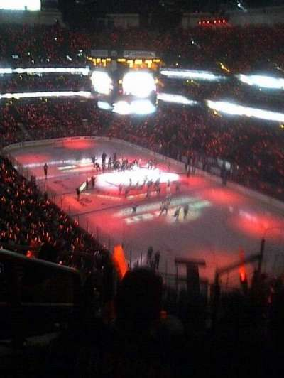 Honda Center, section: 427, row: H, seat: 1