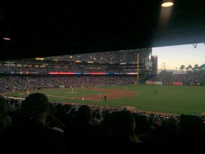 AT&T Park, section: 103, row: 38, seat: 1