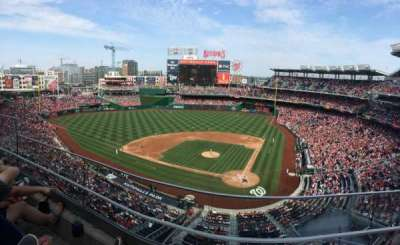 Nationals Park, section: 311, row: B