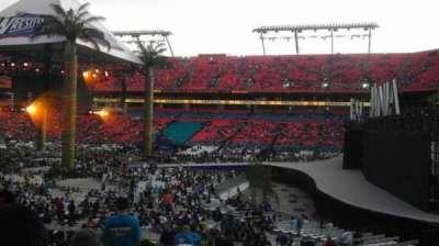 Hard Rock Stadium section 110