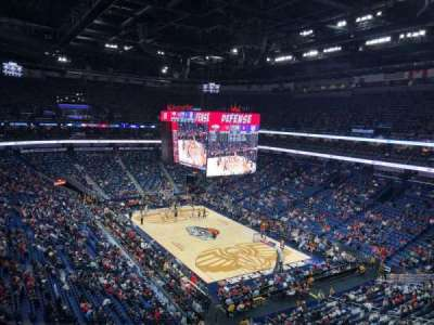 Smoothie King Center, section: 311, row: 4, seat: 10