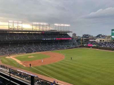 Wrigley Field section 330R