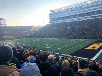 Kinnick Stadium, section: 101, row: 36, seat: 4