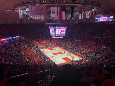 State Farm Center, section: 216, row: 21, seat: 13
