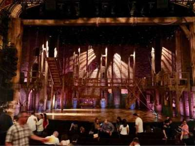 Richard Rodgers Theatre, section: ORCH, row: M, seat: 108