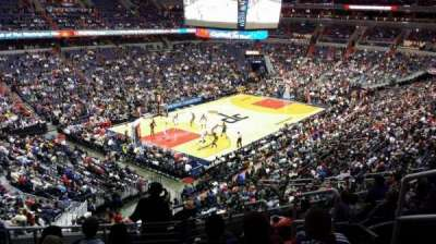 Verizon Center section 210