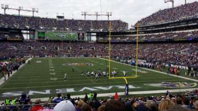 M&T Bank Stadium section 114