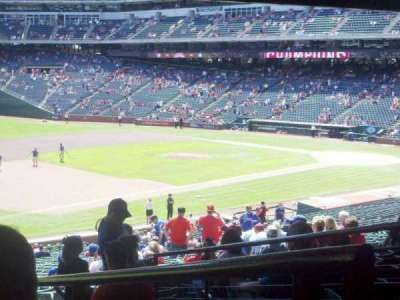 Globe Life Park in Arlington, section: 116, row: 38, seat: 6
