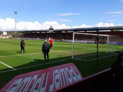 Broadhall Way section South Stand