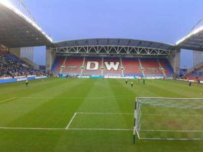 DW Stadium section North Stand