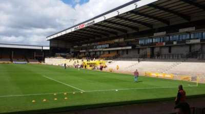 Vale Park, section: Hamil Road Stand