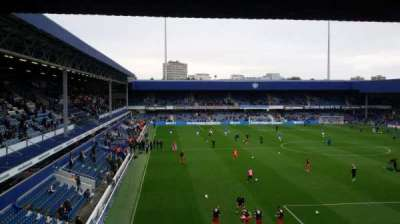 Loftus Road, section: School End