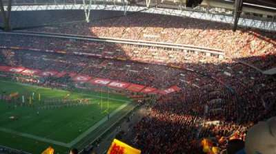 Wembley Stadium, section: A