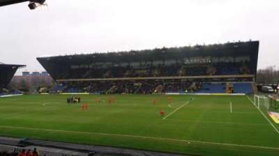 Kassam Stadium, section: North Stand, row: T