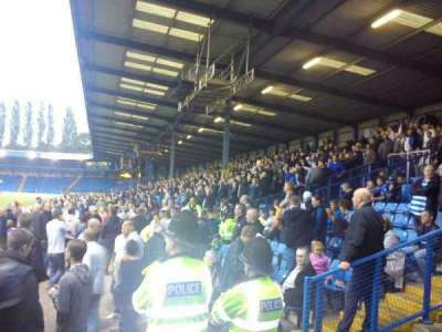 Gigg Lane, section: rough stand