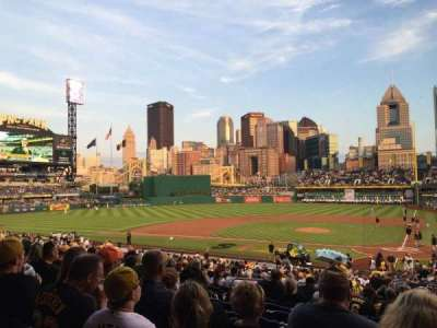 PNC Park, section: 119, row: W , seat: 23