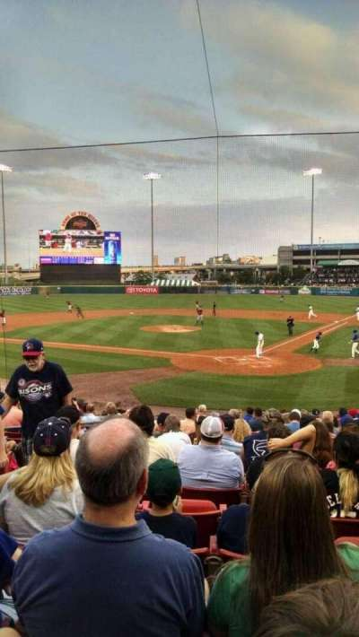 Coca-Cola Field, section: 101, row: q, seat: 13