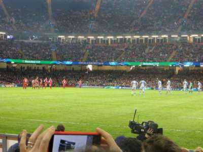 Principality Stadium, section: L10, row: 7