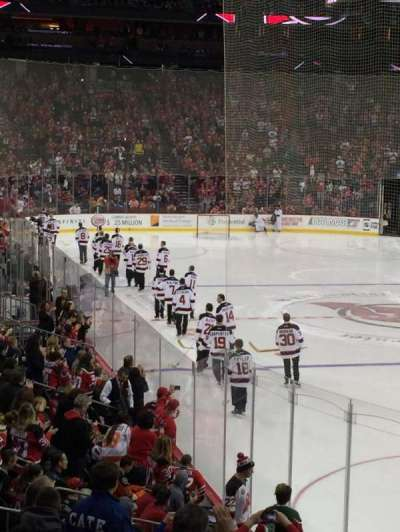 Prudential Center, section: 1, row: 15, seat: 17
