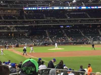 Citi Field, section: 106, row: 14, seat: 1