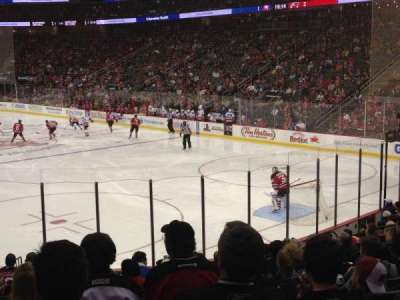 Prudential Center, section: 1, row: 15, seat: 15