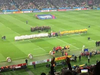Twickenham Stadium, section: M10, row: 68, seat: 257